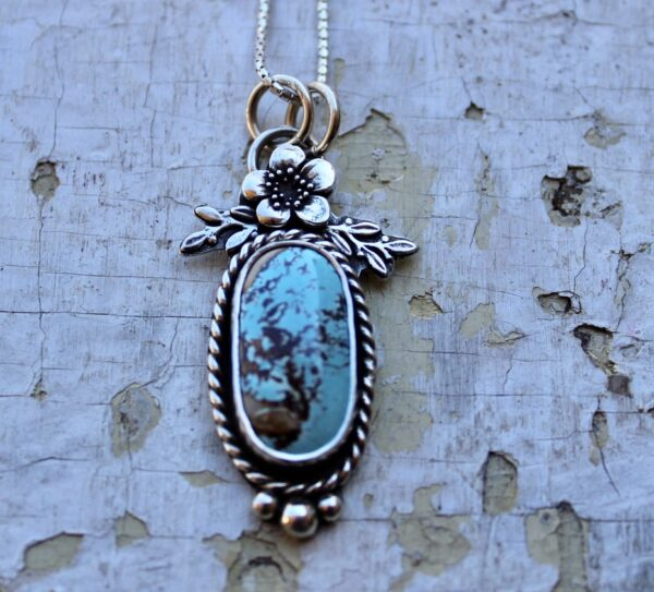 #8 Turquoise Pendant for sale